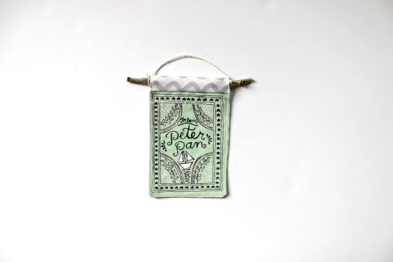 Peter Pan Ornament // Book Ornament // JM Barrie by SweetSequels
