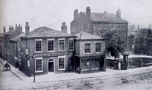Vicar Lane in 1872