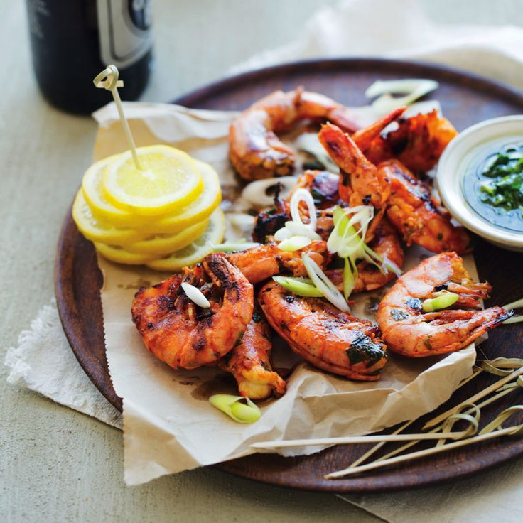 Grilled prawns - MyKitchen