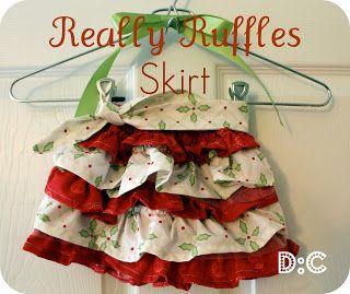 Destination: Craft: Really Ruffles Skirt