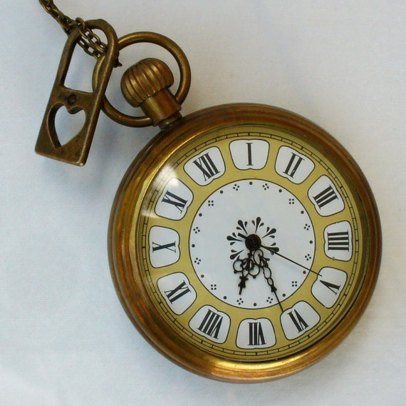 pottery barn pocket watch clock instructions