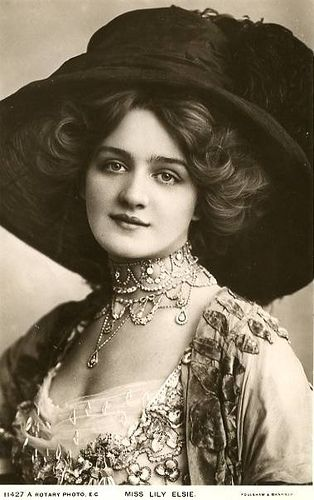 I wish I looked like Lily Elsie, let alone have as successful of a career as her.