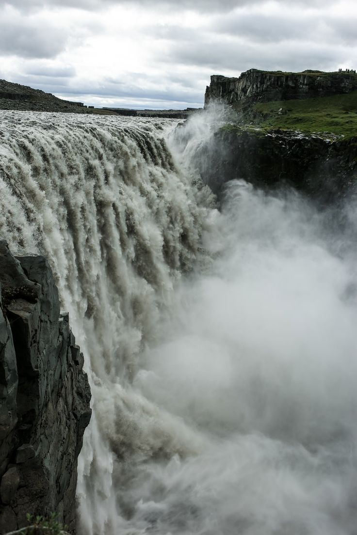 Foss: the Icelandic word for waterfall