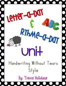 25 Best Ideas About Handwriting Without Tears On