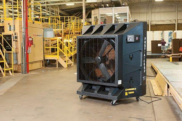 Enfriador Evaporativo - Port-A-Cool: Refrigeración de Naves Industriales con Equipos Ev...