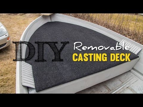 DIY Cheap Removable Casting Deck - YouTube