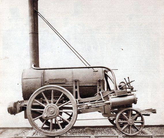 Steam Locomotive George Stephenson Rocket | George Stephenson's Rocket train, the ...