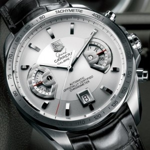 TAG Heuer Grand Carrera Calibre 17 in Steel