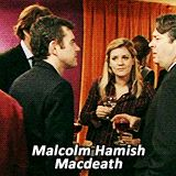 Peter referring to Malcolm Tucker. :D