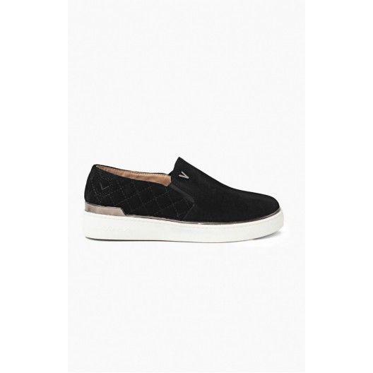 Dámska športová obuv v čiernej farbe - fashionday.eu