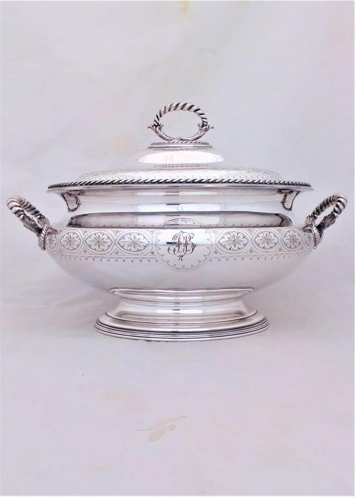 Edwardian Large Tea Kettle on Stand Circa 1905