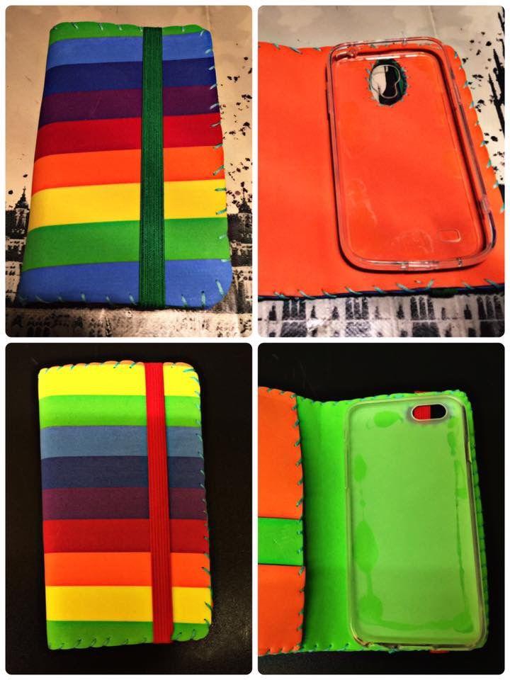 Custodia Gay Friendly pronta ! 😉 Disponibile per tutti gli smartphone! Cucita a mano !