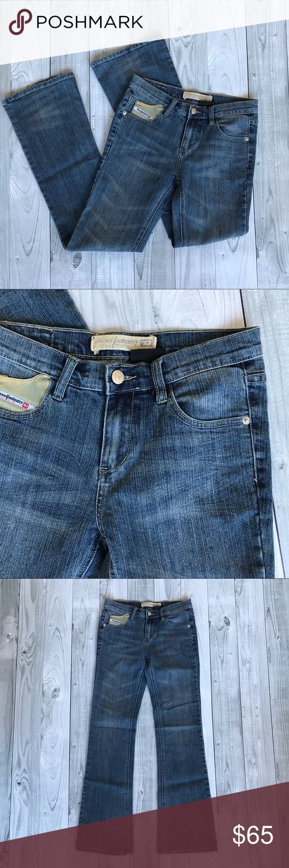 Diesel boot cut denim blue jeans women's size 27 Gently used in good condition Diesel boot cut denim blue jeans women's size 27. Size tag faded. Diesel Jeans Boot Cut