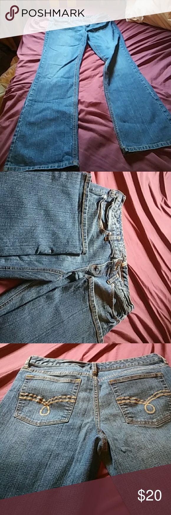 Size 11 American Rag Jeans. Very lightly used American Rag Jeans from Macy's.  Boot cut style with little wear. American Rag Jeans Boot Cut
