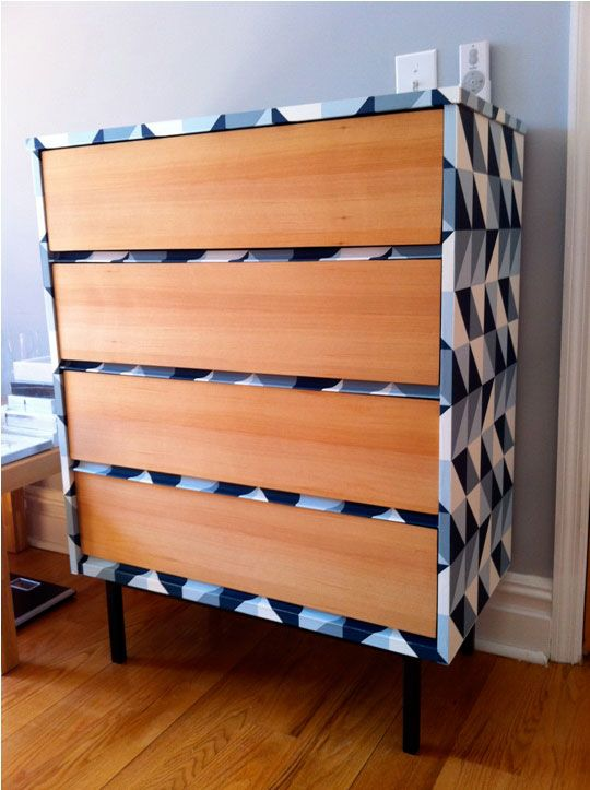 32 best wallpaper furniture images on pinterest paint painted wallpapered dresser sisterspd