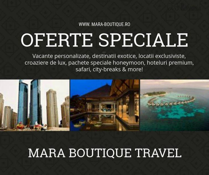 MARA BOUTIQUE TRAVEL - Vacante personalizate, destinatii exotice, locatii exclusiviste, croaziere de lux, pachete speciale honeymoon, hoteluri premium, safari, city-breaks & more! www.mara-boutique.ro #Vacante #destinatiiexotice #croazieredelux