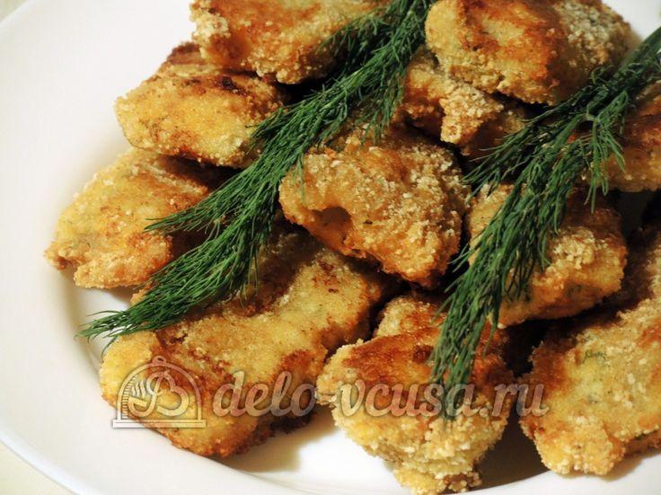Рыбные палочки #рыба #рецепты #деловкуса #готовимсделовкуса