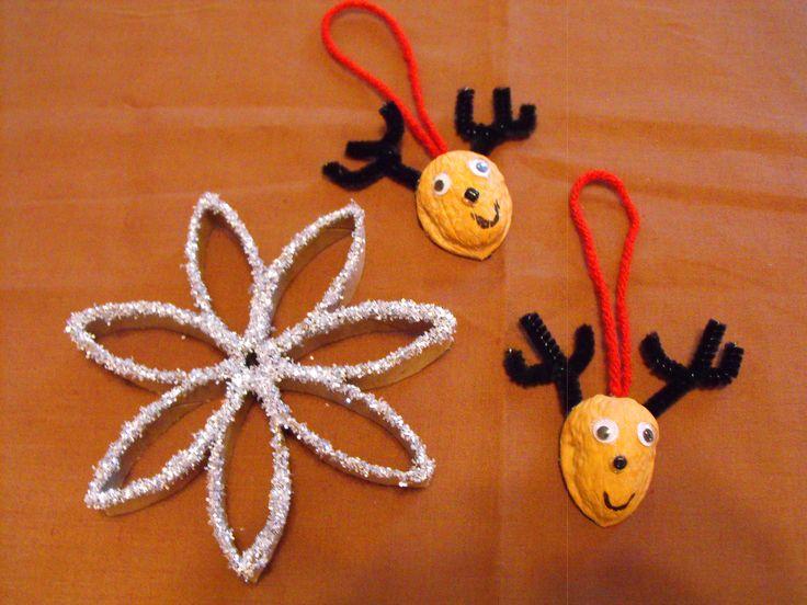 walnut shell craft ideas | Christmas Crafties