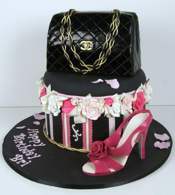 purse shoe cake toronto | by www.fortheloveofcake.ca