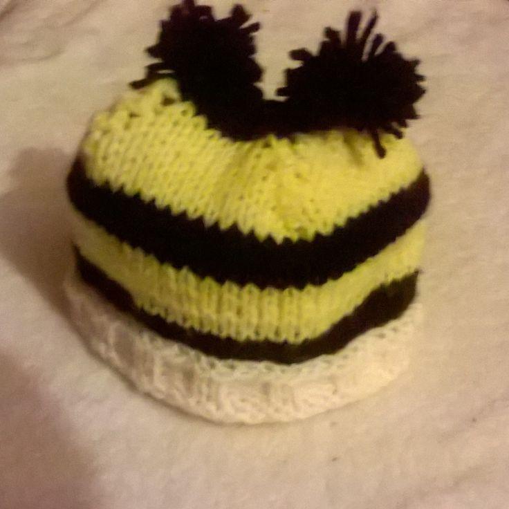 #handmade #bumblebee #hat for babies