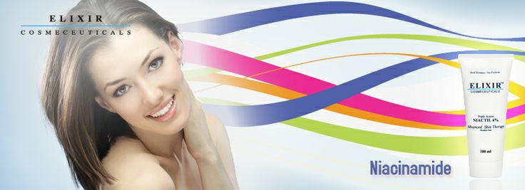 Informasjon om bruk av niacinamide i hudpleie produkter fra Elixir Askorbinsyre