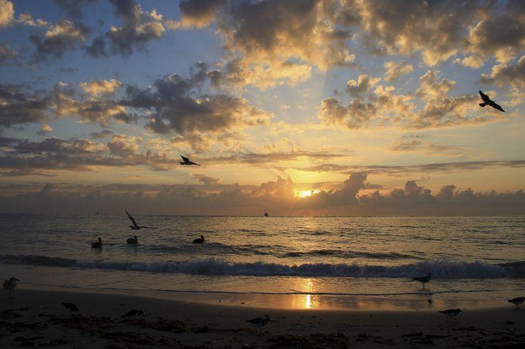 Sunrise at Boynton Beach Inlet