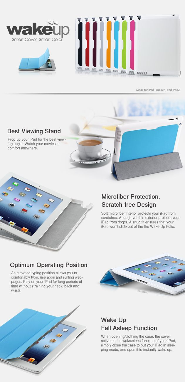 Cooler Master Wake Up Folio Smart Cover for New iPad 3 and iPad 2 Unboxing Review