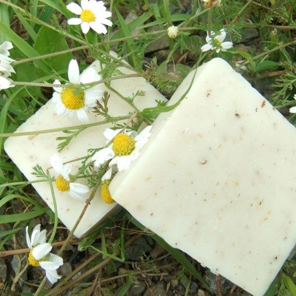 Rumianek & lipka ukoi, załagodzi, umyje, nawilży. Dom w którym powstają mydła otoczony jest łąkami - na tych łąkach rośnie rumianek, a wokół stare lipy. Powietrze jest lepkie od aromatu lipowych kwiatów... To doznanie zostało zamknięte w Rumianku z lipą. To najwspanialsze mydło do włosów.