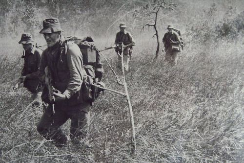 Australian troops Photo taken by Denis Gibbons, an Australian reporter.