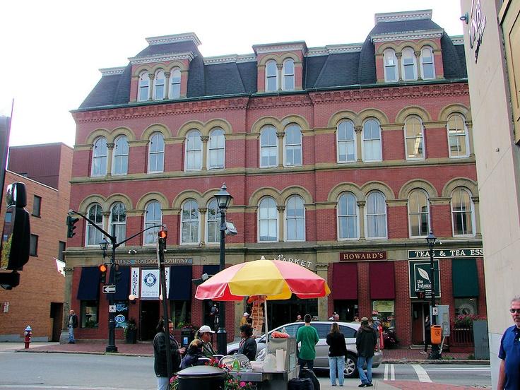City Market Downtown Saint John New Brunswick Saint John New