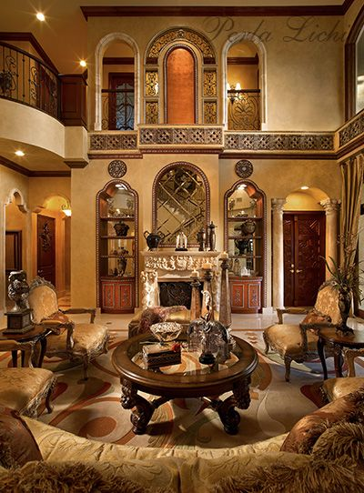 1521 best tuscan style decor images on pinterest house - Italian inspired living room design ideas ...