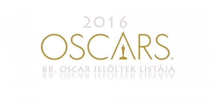 88. OSCAR 2016 Jelölések, jelöltek teljes listája - A 88. Oscar-díj átadás - 2016. február 28.-án lesz.