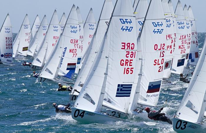 Day 8 - Men 470 sailing