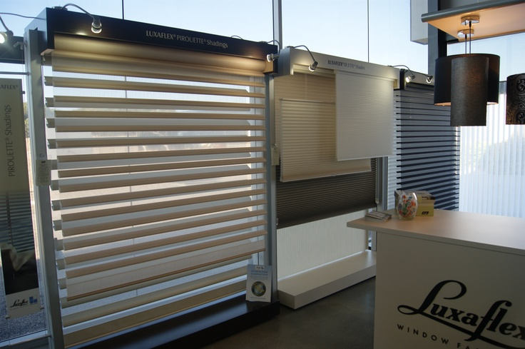 Glass Co - Luxaflex Gallery display