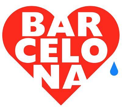 Love & tears for Barcelona, Barcelona, logotype, barcelona logo, love, love & tears, love barcelona,