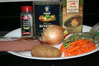 A Year of Slow Cooking: CrockPot Split Pea Soup Recipe
