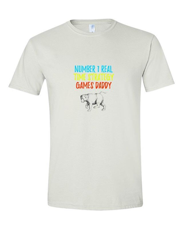 NUMBER 1 REAL-TIME STRATEGY GAMES DADDY http://ift.tt/2tecaxa #number #1 #realtime #strategy #games #daddy #blessed #cooldaddy  #shirt #shirts #tshirt #tshirts #tees #teeshirts #tshirtdesign #tshirtoftheday #procedural