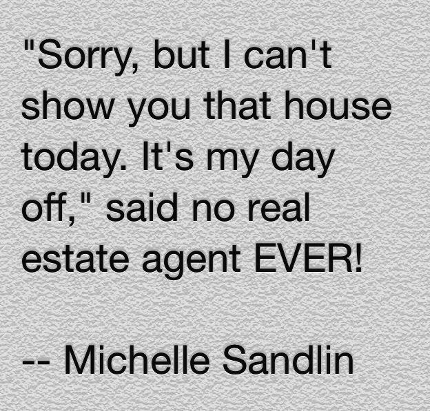Real estate humor - by Michelle Sandlin