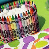 111 Ways to Entertain the Kids Indoors: Crayon Bowl Craft
