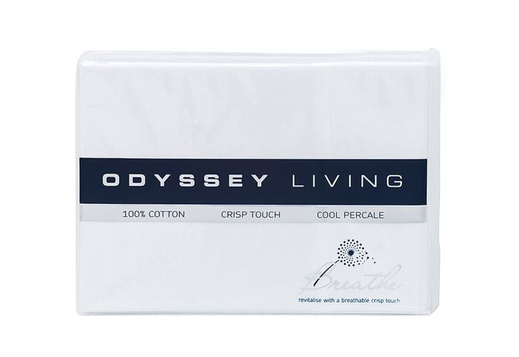 Odyssey Living King Cotton Sheet Set | Super Amart