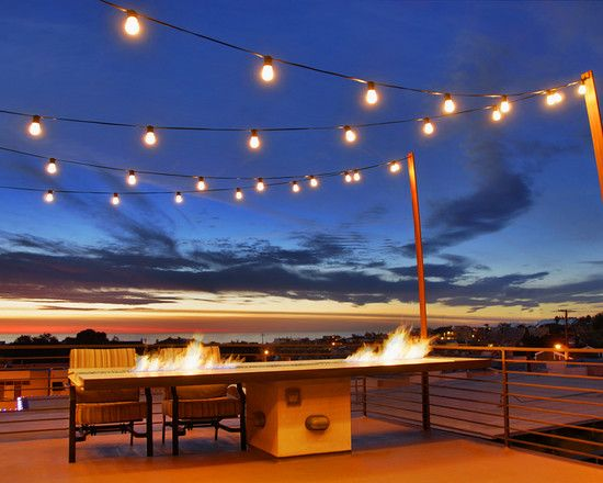 17 best images about outdoor string lights on pinterest for Balcony lights