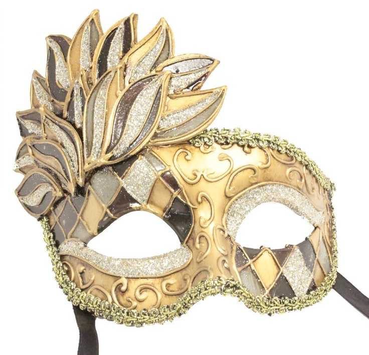 Gold Mardi Gras Mask....one of my favorites