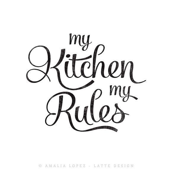 Mia cucina le mie regole. Cucina arte cucina di LatteDesign