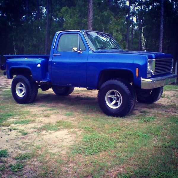 78 Chevy stepside  lifted