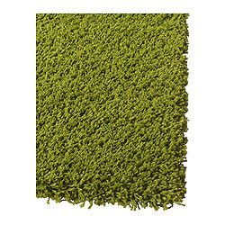 "HAMPEN Rug, high pile - 4 ' 4 ""x6 ' 5 "" - IKEA  I wanna create a grass / outdoorsy like feel in the living room so we can play picnic in the home. All I need is a picnic basket and some home made sandwiches and wa lahhhh to complete my outdoor garden themed living room."
