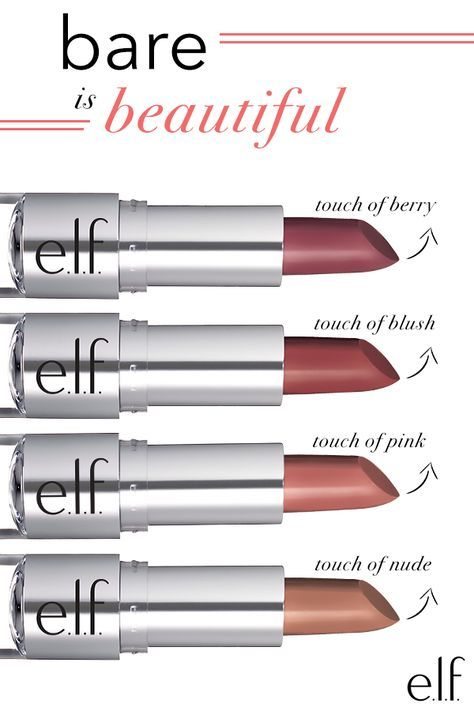 Create a flawless, natural look with this lightweight lipstick from E.L.F. Cosmetics. Enhanced with Vitamin E and Shea butter for moisture, these lipsticks provide a soft, natural looking finish. Bring the colors together for a customized hue or use a little on the cheek as blush! See them all at http://ElfCosmetics.com.