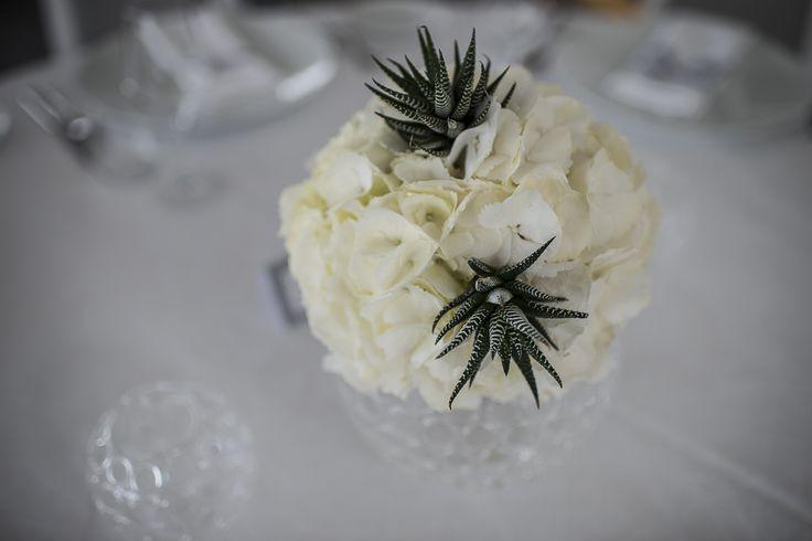 Dettaglio Centrotavola floreale CLASSICO 2015 calamoresca.it