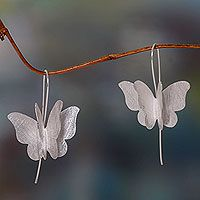 Silver Butterfly from @NOVICA, They help #artisans succeed worldwide.