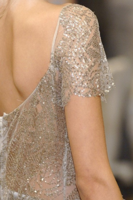 I'd love sequins to be incorporated