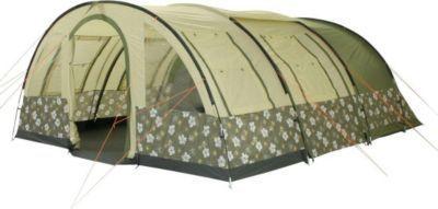 10T Camping-Zelt Flowerton 6 Tunnelzelt mit Schlafkabinen für 6 Personen Outdoor Familienzelt mit Wohnraum, Zelt Belüftung, eingenähte Bodenwanne, wasserdicht mit 3000mm Wassersäule Jetzt bestellen unter: https://moebel.ladendirekt.de/kinderzimmer/betten/baldachine/?uid=b464a9e8-a5ea-5f37-ab23-c77782feebf1&utm_source=pinterest&utm_medium=pin&utm_campaign=boards #ern #baldachine #kinderzimmer #betten Bild Quelle: gartenxxl.de